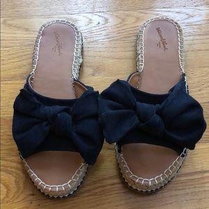 Navy Blue flip flop sandals
